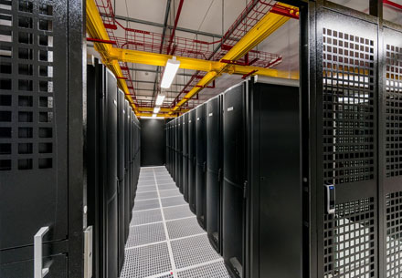 Equinix Data Center Cage